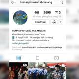 Screenshot akun Instagram Humas dan Protokol Kabupaten Malang. (@humasprotolkabmalang)