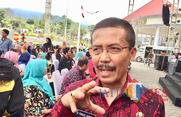 Wakil Wali Kota Batu Punjul Santoso. (Foto: Irsya Richa/BatuTIMES)