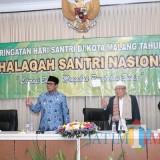 Peringati Hari Santri, Wakil Wali Kota Malang: Ngaji Aja Nggak Cukup