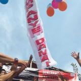 Pelepasan balon mengakhiri rangkaian acara Deklarasi kampanye Damai