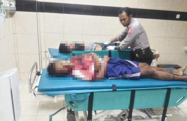 Didik Waluyo dan Candra Irawan korban kecelakaan maut, Kecamatan Sumberpucung, Kamis (18/10/2018) (Foto : Istimewa)
