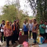 Acara syukuran yang digelar PDAM Lumajang di Sumber Sewu Kalipenggung Randuagung Lumajang (Foto : Moch. R. Abdul Fatah / Jatim TIMES)