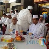 Kapolres Lumajang dalam acara Silaturahmi Forum Kerukunan Ummat Beragama di Mapolres Lumajang (Foto : Moch. R. Abdul Fatah / Jatim TIMES)