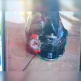 Barang diduga bom di rumah Hermin Mulat.(Foto : Ist)