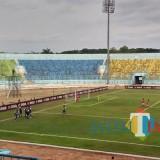 Selebrasi pemain Arema FC usai cetak gol (Hendra Saputra)