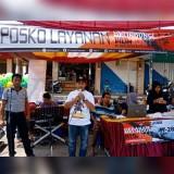 Suasana saat KPU melayani di Pasar Besar Kota Batu, Sabtu (20/10/2018). (Foto: Istimewa)