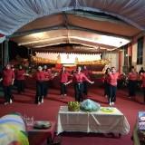 Tari-tarian membuka acara wayangan di Kelurahan Kepanjen Lor Kota Blitar (Foto: Team BlitarTIMES)