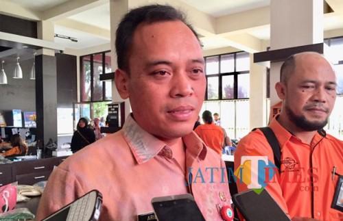 Kepala DLH kota Batu Arief as Siddiq. (Foto: Irsya Richa/MalangTIMES)