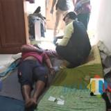 Diduga sakit lambung, Atok Andika ditemukan tewas mengenaskan di rumahnya di Kecamatan Wonosari. (Foto : Humas Polres Malang for MalangTIMES)