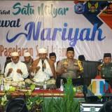 Pembacaan Satu Milyar Sholawat Nariyah di Ponpes Lirboyo Kediri. (Foto: B. Setioko/JatimTIMES)