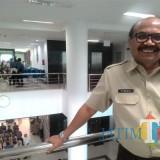 Purnadi Kepala Badan Pendapatan Daerah (Bapenda) Kabupaten Malang menyatakan PBB P2 masih 77 persen (Nana)