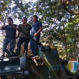 CSR Panser Anoa yang diberikan kepada Kota Malang dari PT Pindad di Taman Cerdas Trunojoyo. (Foto: Nurlayla Ratri/MalangTIMES)