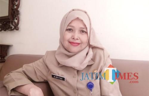 Kabid Data dan Sitem Informasi DPMPTSP Kota Malang, Alwiyah (foto: Pipit Anggraeni/ MalangTIMES).