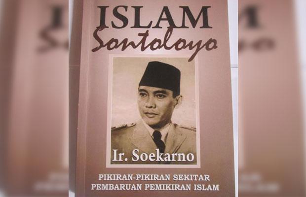 Buku Kumpulan Artikel Soekarno berjudul Islam Sontoloyo. (foto istimewa)