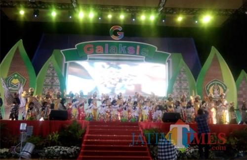 Peringati hari Sumpah Pemuda, siswa dan siswi MIN 1 Kota Malang gelar acara Galaksis (Pipit Anggraeni/MalangTIMES)