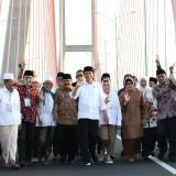 Presiden RI Joko Widodo saat meresmikan Jembatan Suramadu (Foto : Istimewa)