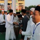 Wagub Jatim Saifullah Yusuf yang juga turut hadir dalam acara Istigotsah Kubro