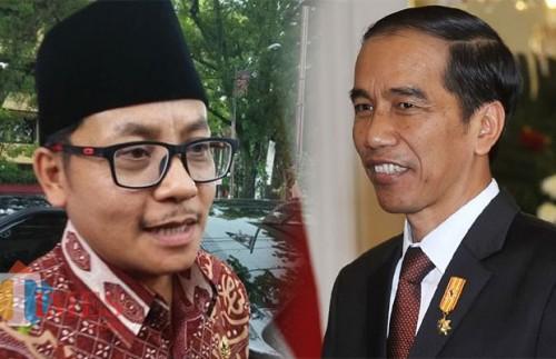 Ilustrasi, Wali Kota Malang, Sutiaji dan Presiden Joko Widodo