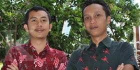 M. Arie Kurniawan (kiri) dan Arfi