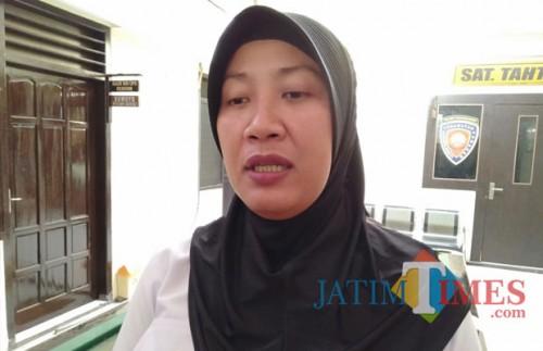Kanit UPPA Polres Tulungagung, Ipda Retno Pujiarsih ( foto : Joko Pramono/Jatimtimes)