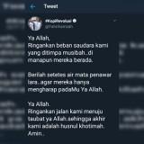"""Fahri Hamzah """"Taubat"""" di Twitter, Warganet:  Cakep, Bukan Bikin Panas Jagat"""