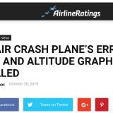 Tangkapan layar situs Airline Ratings yang mengulas soal kecelakaan pesawat Lion Air.