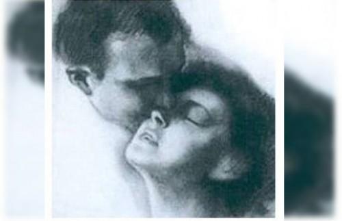 "Ilustrasi kisah cinta ""Sang Nabi dari Lebanon"". (Ist)"