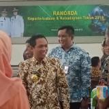 Bupati Lumajang H. Thoriqul Haq di sela-sela acara Rakorda Kepariwisataan & Kebudayaan Lumajang 2018. (Foto: Pawitra/JatimTIMES)