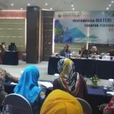 Kegiatan penyampaian tahapan penyusunan renstra perangkat daerah 2019-2023 yang digelar Barenlitbang Kota Malang. (Foto: Nurlayla Ratri/MalangTIMES)