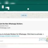 Tangkapan layar link scammer yang menawarkan aktivasi fitur stiker di WhatsApp. (Foto: Dokumen MalangTIMES)