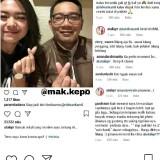 Screenshot akun Instagram @mak.kepo