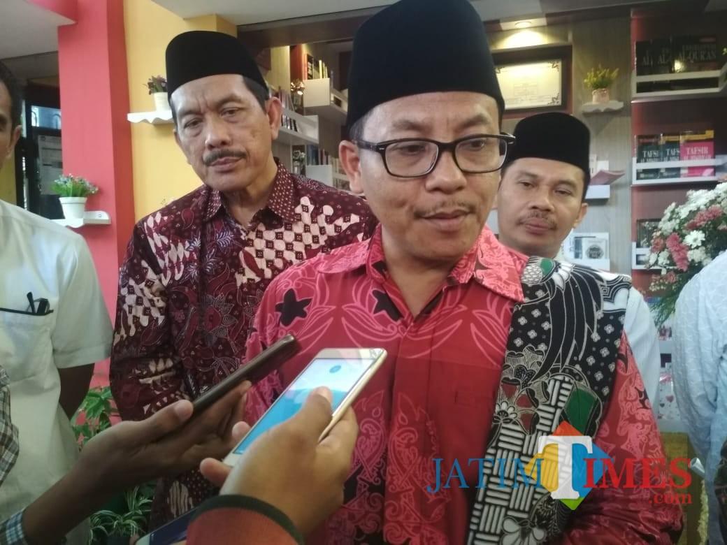 Wali Kota Malang Sutiaji (foto: Imarotul Izzah/Malang Times)