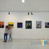 Mahasiswa di Malang Kritik Aksi Perusak Lingkungan Lewat Lukisan