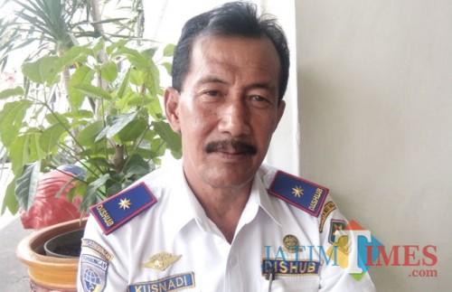 Kepala Dinas Perhubungan Kota Malang Kusnadi (Pipit anggraeni/MalangTIMES).
