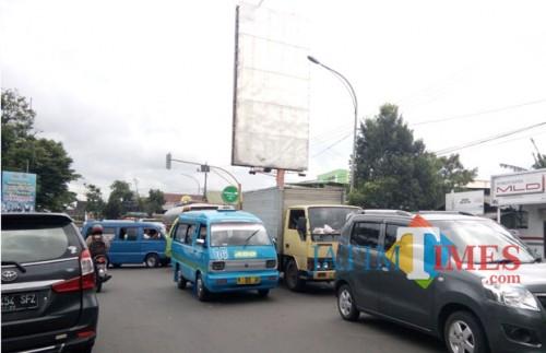 Ilustrasi kemacetan (Pipit Anggraeni/MalangTIMES).