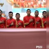 Skuat Timnas Indonesia saat mengikuti Asian Games beberapa bulan lalu (PSSI__fai)