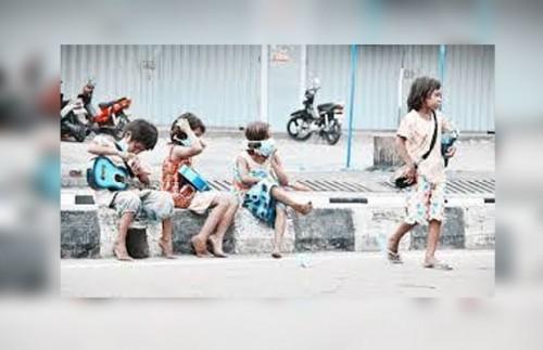 Ilustrasi anak jalanan (istimewa)