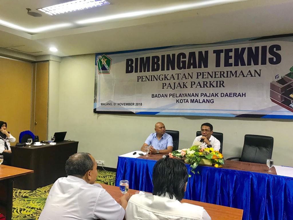 Kegiatan Bimtek Penerimaan Pajak Daerah di Hotel Savana pada hari terakhir pelaksanaan, Rabu (7/11). (Foto: BP2D Kota Malang for MalangTIMES)