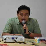 Kepala Dinas Kominfo Kabupaten Kediri Krisna Setiawan. (foto: Eko Arif S /JatimTIMES)