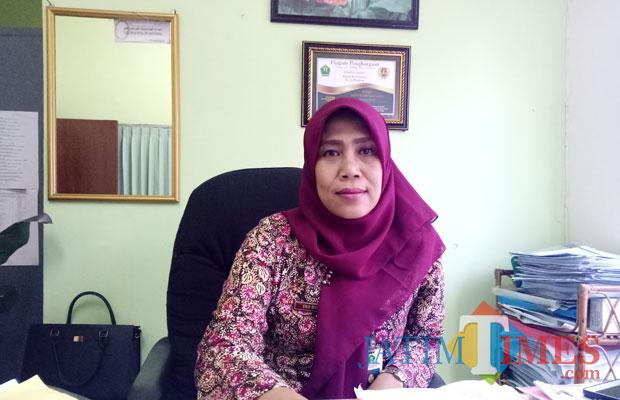 Sekretaris Dinas Kesehatan Eko Dyah Fillyantarie, SH., MM. (Foto: Imarotul Izzah/Malang Times)