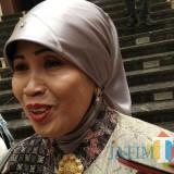 Kepala Dinas Pendidikan (Disdik) Kota Malang Dra Zubaidah MM saat ditemui di Hotel Ollino Garden Malang. (Foto: Nurlayla Ratri/MalangTIMES)