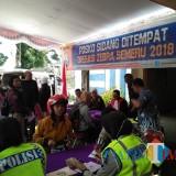 Petugas Satlantas Polres Malang beserta tim gabungan saat menggelar giat Oprasi Zebra Semeru 2018, Kabupaten Malang (Foto : Dokumen MalangTIMES)
