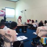 Kursus kepemiluan yang digelar KPU Kota Blitar.(Foto : Team BlitarTIMES)
