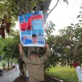 Pasang Alat Peraga Kampanye Sembarangan, Gambar Caleg Dicopoti Bawaslu