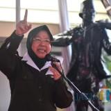 Wali Kota Risma saat meresmikan museum