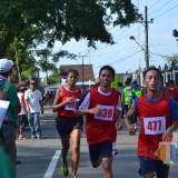 Peserta bersemangat ikuti lomba lari Protar yang digelar Pemkab Blitar.(Foto : Team BlitarTIMES)