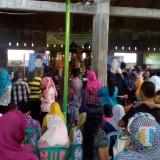 Suasana Pilkades serentak di Desa Wonokerso,  Pakisaji,  yang didatangi Wabup Malang HM Sanusi dan jajaran Forkopimda, Minggu (11/11/2018) (Nana)