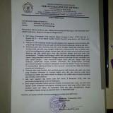 Surat pernyataan kasek SMK NU 03 Kaliwungu, Kendal, Jateng,  atas viralnya video kekerasan murid terhadap  guru tua. (Ist)