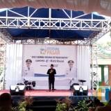 Wali Kota Malang Sutiaji saat hadir dalam Festival Pasar yang diselenggarakan di Pasar Besar, Selasa (13/11/2018). (Pipit Anggraeni/MalangTIMES).