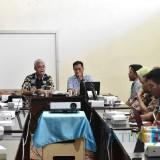 Lokakarya Strategi Kemiskinan Daerah di Ruang Rapat Lantai 1 Bappeda Lumajang. (Foto: Bappeda Lumajang)